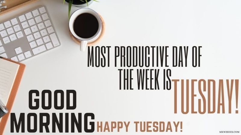 Good Morning Happy Tuesday Image